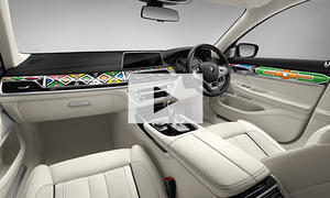 BMW Individual 7er by Esther Mahlangu: Video