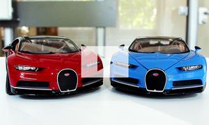 Bugatti Chiron Modell von Bburago: Video