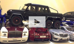 Mercedes G 63 AMG 6x6 (Fail): Video