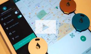 Mini-Peilsender TrackR fürs Auto (GPS): Video
