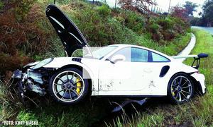 Porsche 911 GT3 RS gecrasht: Video