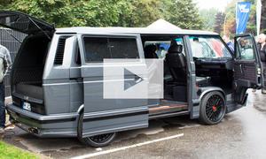VW T3 mit W12-Motor: Video