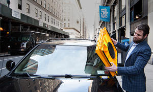 Barnacle: Wegfahrsperre für Falschparker