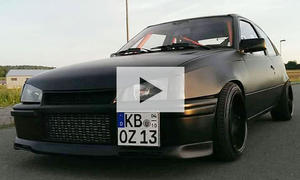 Opel Kadett GSi 16V Turbo: Video