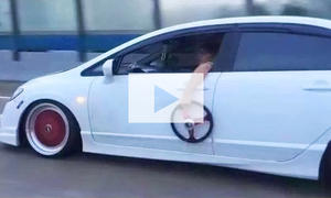 Acura CSX ohne Lenkrad: Video