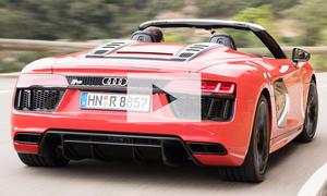 Audi R8 Spyder: Video