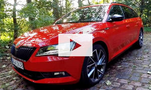 Skoda Superb Sport Line: Video