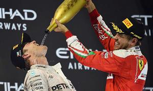 Formel-1-Weltmeister Nico Rosberg dankt Schumacher
