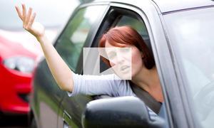 Strafe bei Beleidigungen im Straßenverkehr: Video