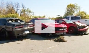 Dodge Hellcats gestohlen: Video