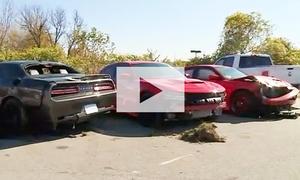 Dodge Hellcats gestohlen: Video