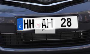 Verbotene Autokennzeichen: Video