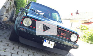 VW Golf 1 GTI Pirelli Tuning: Video