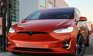 Tesla Model X: SEMA 2016