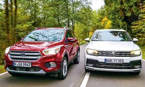 Ford Kuga/VW Tiguan