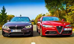 BMW M3 Competition/Alfa Romeo Giulia QV V6-Biturbo