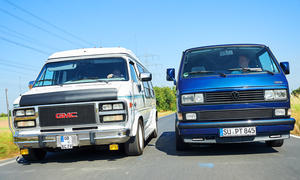 GMC Vandura 2500 Explorer Limited/VW T3 Multivan LLE