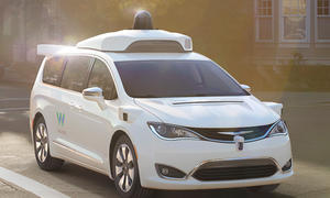 Google Auto Waymo Chrysler Pacifica