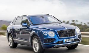 Neuer Bentley Bentayga Diesel: Erste Fahrt