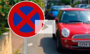 Unfall im Halteverbot (Haftung): Video