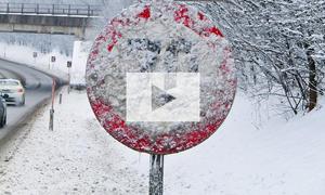 Verschneite Verkehrszeichen gültig? Video