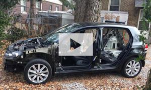 Diesel-Rückgabe in USA: Golf ausgeschlachtet (Video)