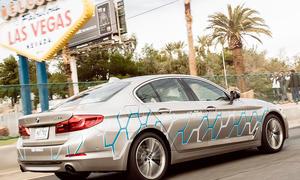 Autonom fahrender BMW 5er (G30)