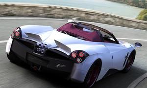 Pagani Huayra Roadster: Genfer Autosalon 2017