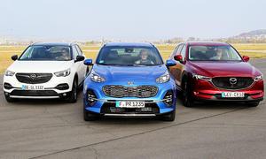 Opel Grandland X/Kia Sportage/Mazda CX-5