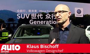 Klaus Bischoff, Designchef VW