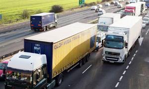 Hohe Strafe für Lkw-Fahrer