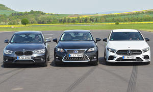 Mercedes A200/BMW 118i/Lexus CT 200h