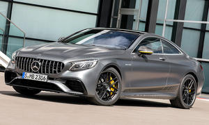 Mercedes-AMG S 63 Coupé Exklusive Yellow Night Edition
