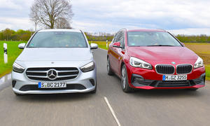 Mercedes B 200 d/BMW 218d Active Tourer