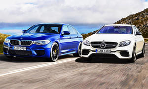 Mercedes-AMG E 63 S/BMW M5