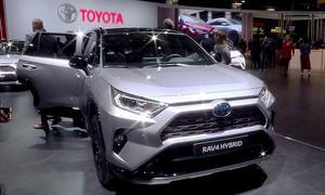 Toyota auf dem Pariser Autosalon 2018