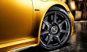 Porsche 911 Turbo S Exclusive Series Karbonfelge