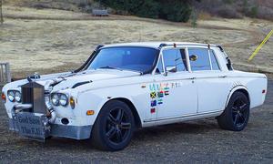 Getunter 1979er Rolls Royce Silver Shadow II
