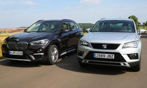 Seat Ateca und BMW X1 im Test