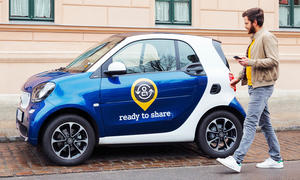 Ready to share: privates Carsharing-Angebot von Smart