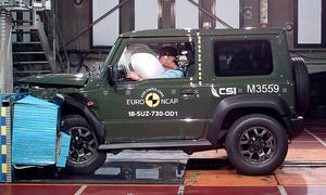 Suzuki Jimny (2018) im Crashtest