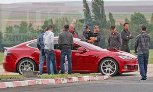 Tesla Model S: Nürburgring-Rekordversuch