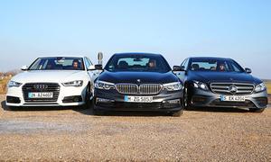 Oberklasse-Diesel-Vergleichstest