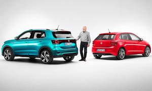 VW T-Cross/VW Polo: Vergleich