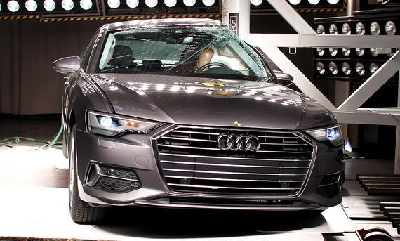 Audi A6 (2018) im Crashtest