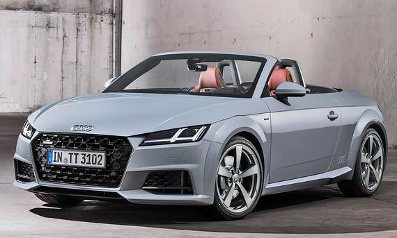 Audi TT Roadster Facelift (2018)