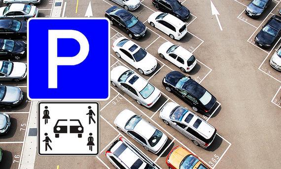 Carsharing Verkehrsschild (Entwurf)