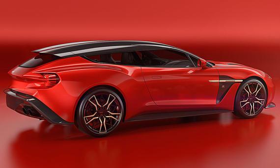 Aston Martin Vanquish Zagato Shooting Brake (2017)