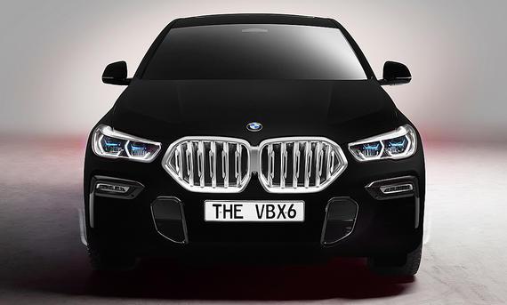 BMW X6 VantablackVBx2 (2019)