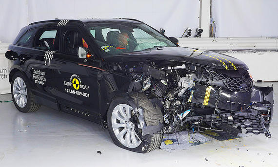 Range Rover Velar (20179 im Crashtest